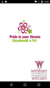 Pride in your Streets Wrexham poster