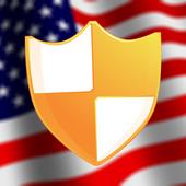 US VPN icon