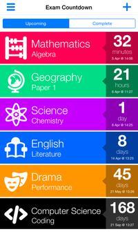 Exam Countdown poster
