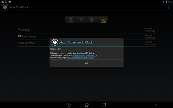 Super World Clock Free screenshot 6