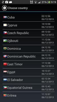 Super World Clock Free screenshot 1