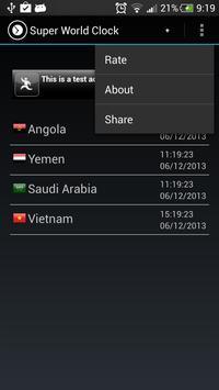 Super World Clock Free screenshot 2