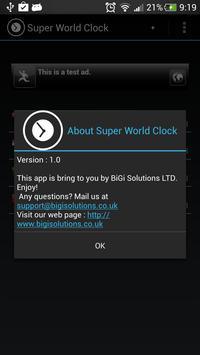 Super World Clock Free screenshot 3