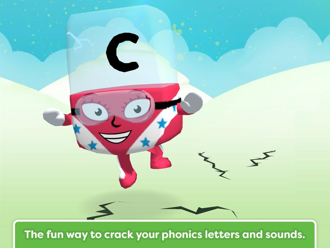 Cartoon Characters 8 Letters : Meet the alphablocks! for android apk download
