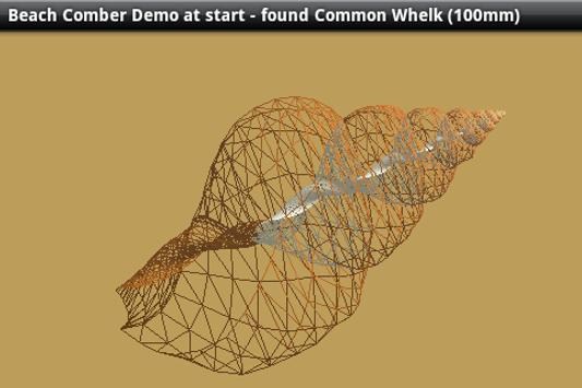 3D Virtual SeaShell Demo screenshot 1