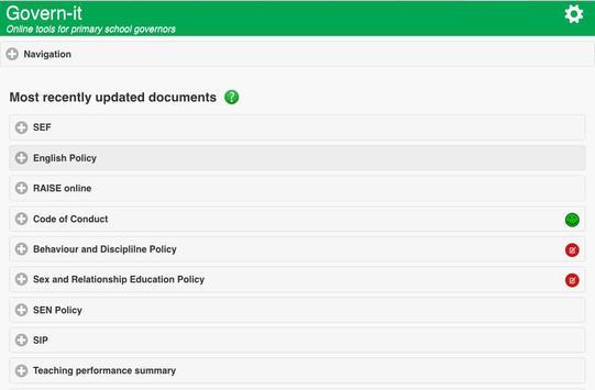 Govern-it screenshot 1