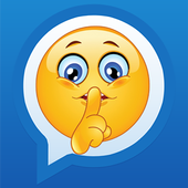 Secret SMS number APP icon