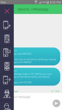 Secret SMS number APP ポスター