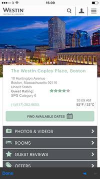 Westin Copley Place apk screenshot