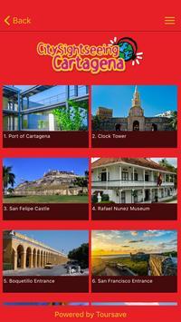 City Sightseeing Cartagena apk screenshot