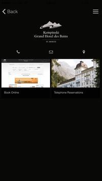 Kempinski St. Moritz screenshot 9