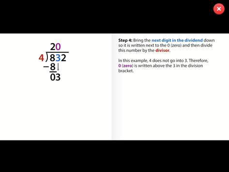 Maths Tutor apk screenshot