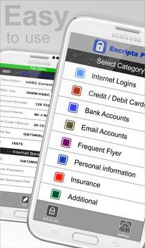 Encripta Password Manager screenshot 2
