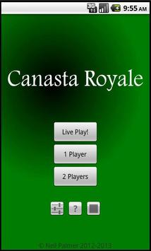 Canasta Royale Free apk screenshot
