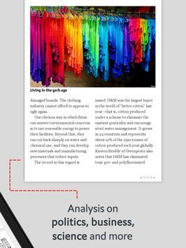 The Economist: World News imagem de tela 9