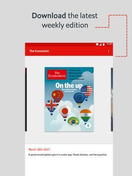 The Economist: World News imagem de tela 10