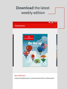 The Economist: World News imagem de tela 18