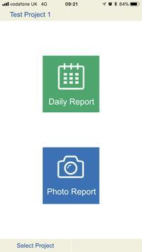 Systech Site Diary apk screenshot