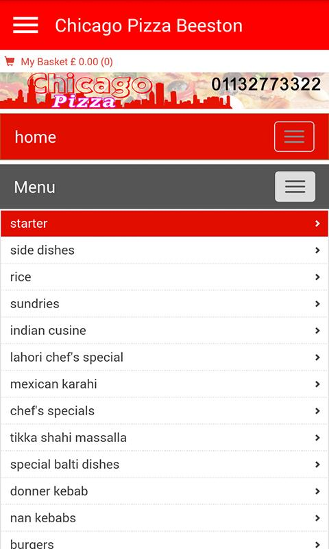 Chicago Pizza Beeston For Android Apk Download