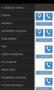 Biržai Info apk screenshot