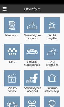 Jurbarkas Info poster