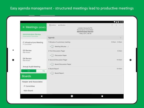 MeetingSquared: Meetings Tool apk screenshot
