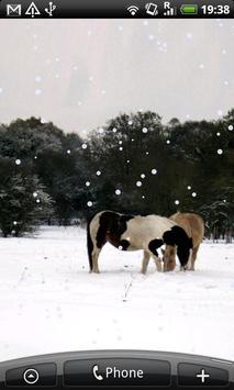 Settling Snow Live Wallpaper apk screenshot