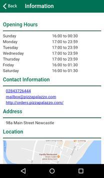 Pizza Palazzo Newcastle apk screenshot