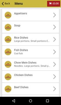 Rong Fa Chinese Takeaway apk screenshot