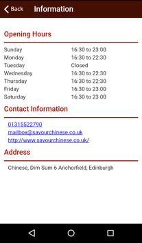 Savour Edinburgh apk screenshot