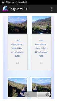 EasyCamFTP apk screenshot