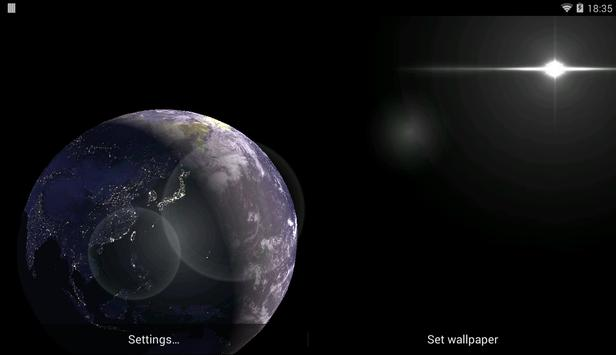 Earth Satellite Live Wallpaper APK Download Free Personalization - Satellite image of earth live