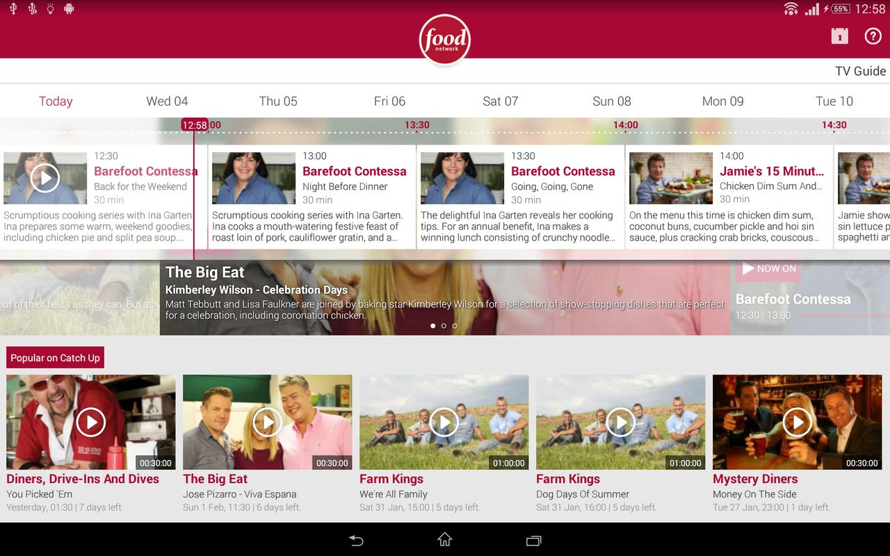 Watch Food Network UK APK Download - Free Entertainment APP for ...