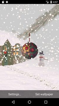 Winter Snow Live Wallpaper screenshot 3