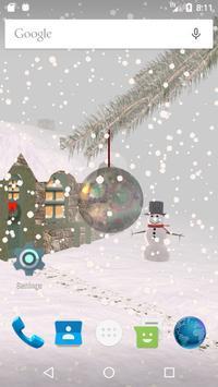 Winter Snow Live Wallpaper screenshot 1
