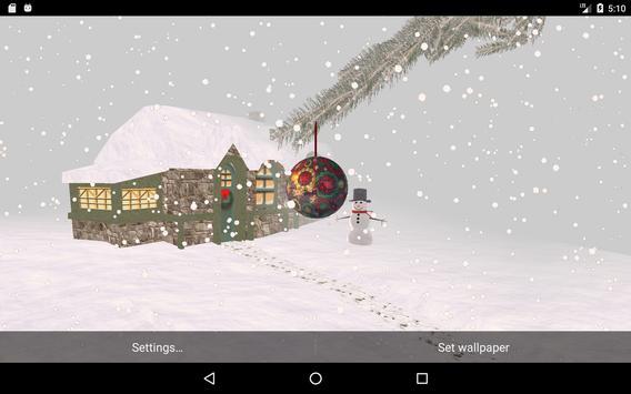 Winter Snow Live Wallpaper screenshot 7