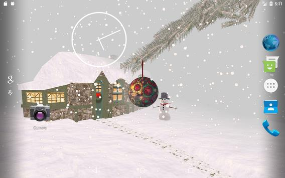 Winter Snow Live Wallpaper screenshot 6