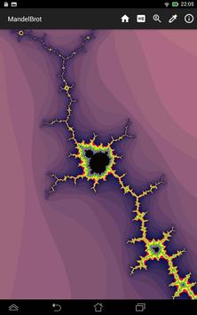 Mandelbrot Tap apk screenshot
