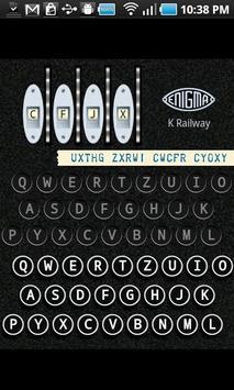 Enigma Simulator poster