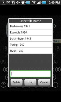 Enigma Simulator apk screenshot