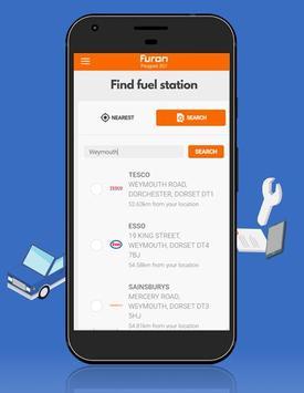 Furon - Your best car manager apk screenshot