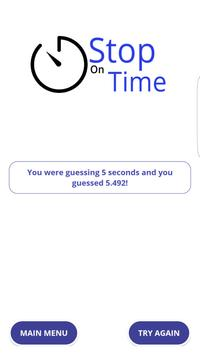Stop On Time! apk screenshot