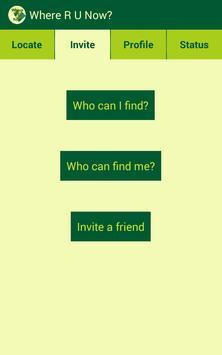 Where R U Now? screenshot 3