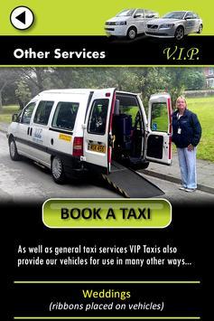 VIP Taxis screenshot 2