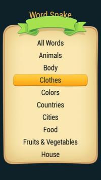 Word Search (Snake) apk screenshot