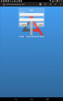 IMS4 Industrial Activity Track poster