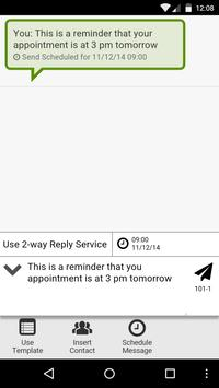 IntelliSMS Messenger screenshot 1