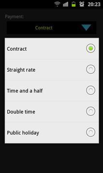 InfoEase Timesheet screenshot 3