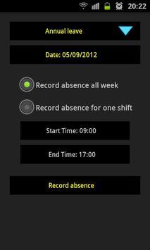InfoEase Timesheet screenshot 4