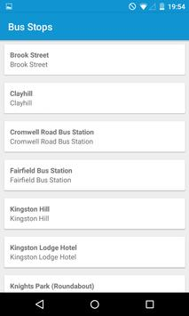 Uni Bus Kingston apk screenshot